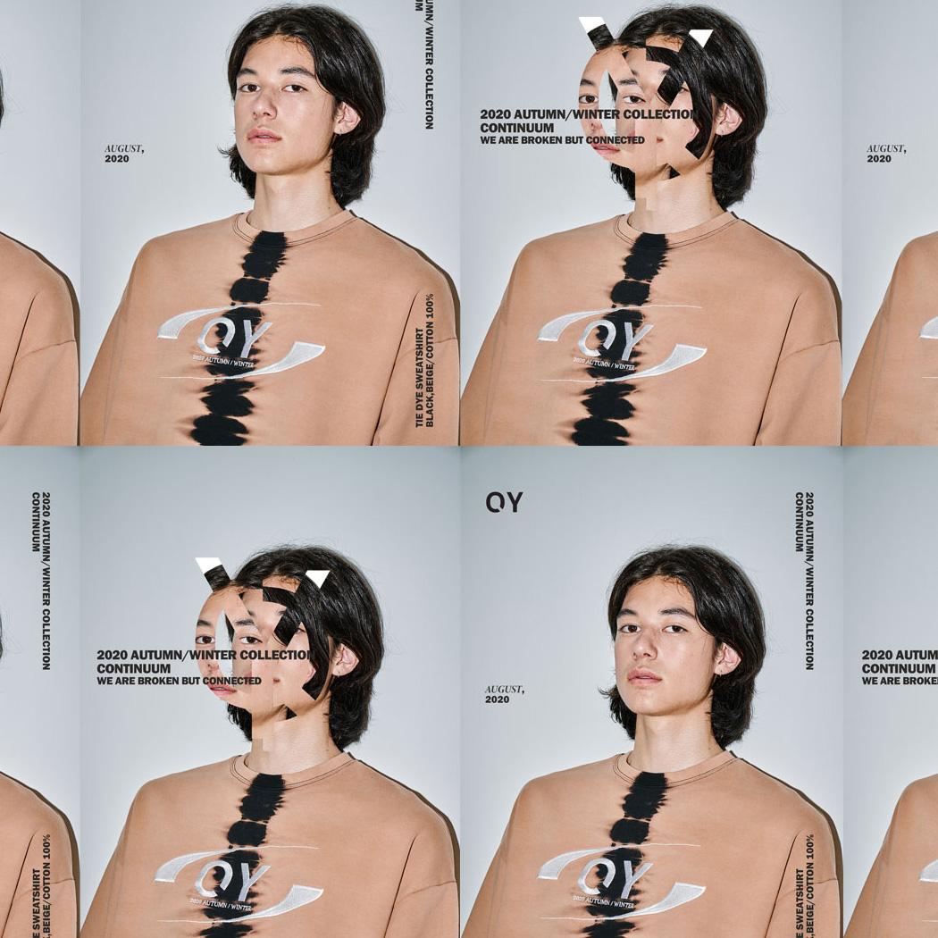 OY 日韓で話題沸騰中のソウル発ストリートブランド 差別化されたストリートモードがここに モノトーンを基調としたTシャツやパーカーなどのシンプルなアイテムがメイン