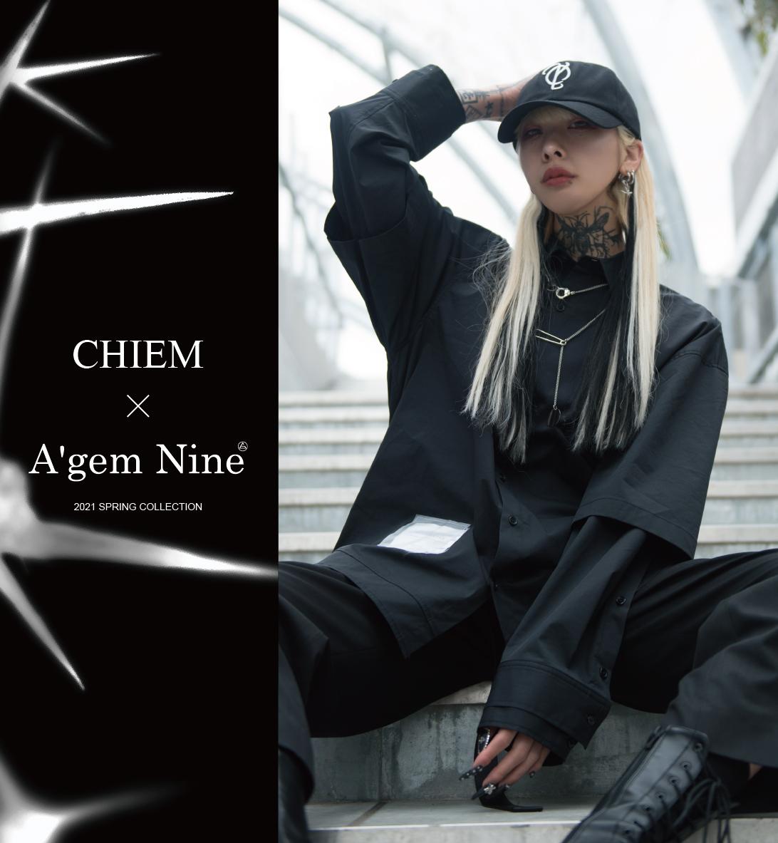 A'GEM/9×chiem 2021 SPRING COLLECTION