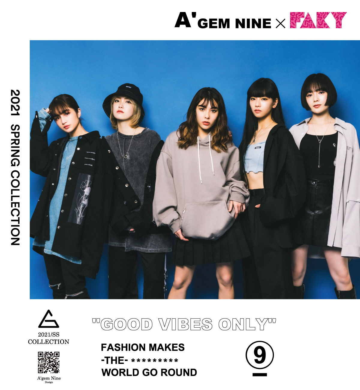 A'GEM/9 × FAKY Collection book